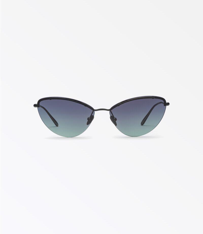 welcome-eyewear-c18s1-tara-matte-loden-metal-black-green-gradient-lenses-front-view