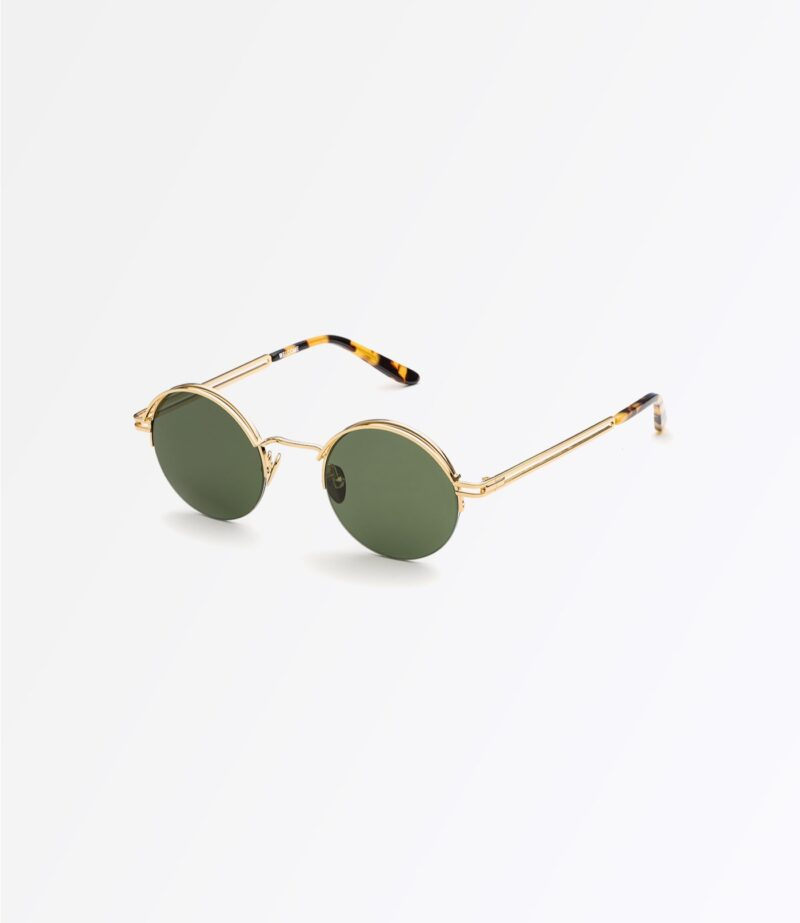 https://welcomeeyewear.com/wp-content/uploads/2019/01/welcome-eyewear-c18s2-magnolia-classic-gold-metal-solid-green-lenses-side-view-3.jpg
