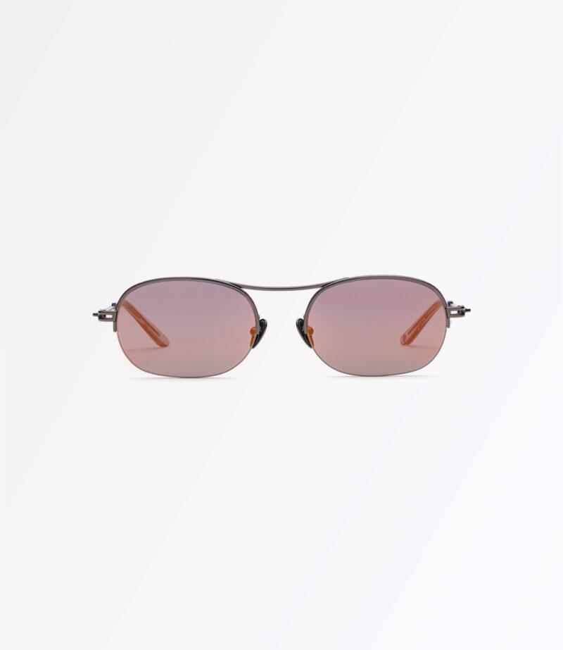 welcome-eyewear-c18s3-dice-dark-gun-metal-mirror-orange-lenses-front-view