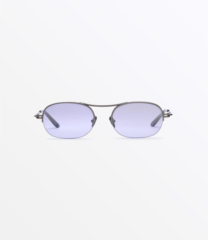 welcome-eyewear-c18s3-dice-light-gun-metal-mirror-pruple-lenses-front-view