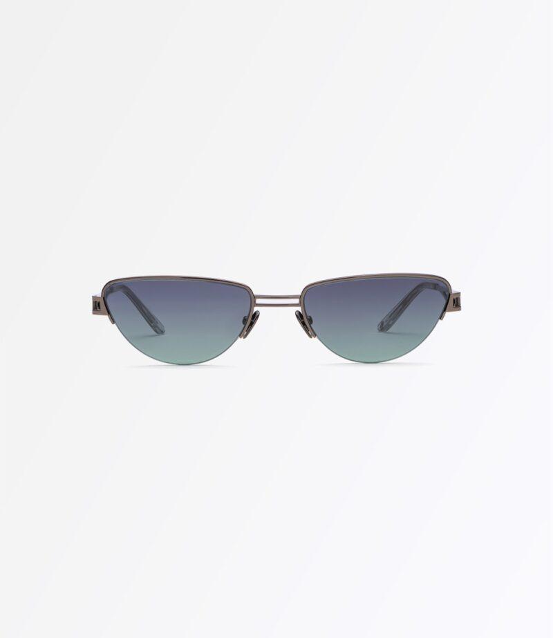 welcome-eyewear-c18s4-concorde-dark-gun-metal-black-green-gradient-lenses-front-view